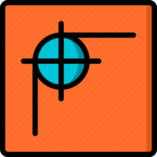 corner, desktop, drawing tool, publishing, radius icon