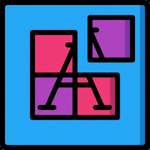 desktop, drawing tool, prints, publishing, tile icon