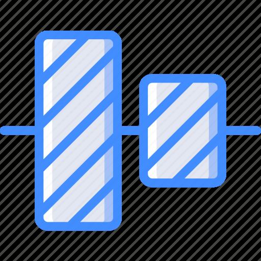 align, centre, desktop, drawing tool, publishing icon