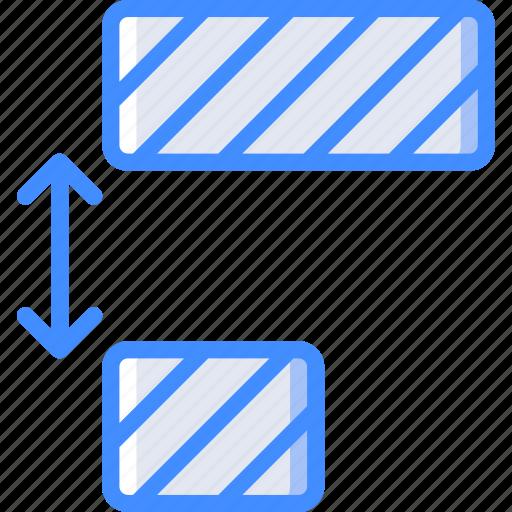 desktop, distribute, drawing tool, items, publishing icon