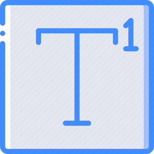 desktop, drawing, publishing, superscript, tool icon