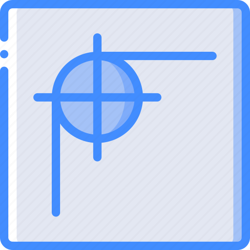 corner, desktop, drawing tool, publishing, radius icon