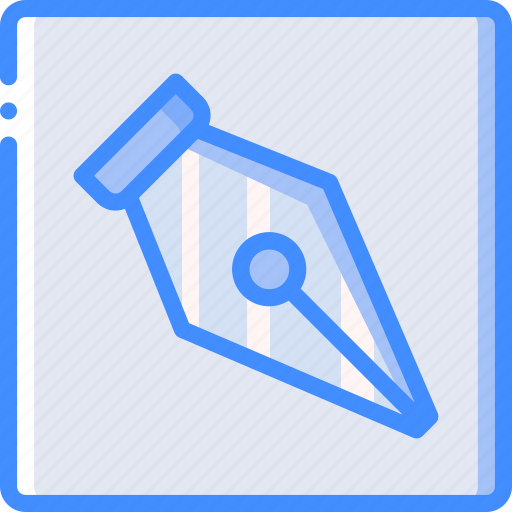 desktop, drawing, paths, publishing, tool icon