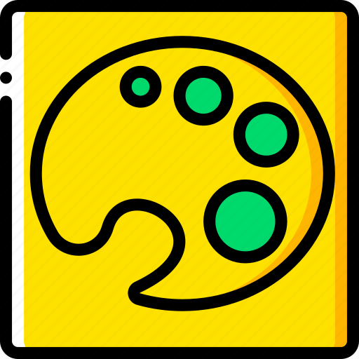colour, desktop, drawing tool, pallettes, publishing icon