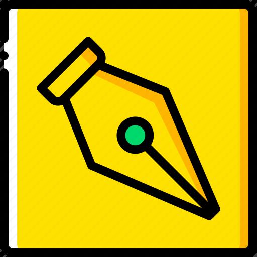 desktop, drawing, paths, publishing, tool icon