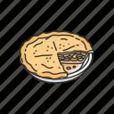 cake, dessert, food, meal, pie, snack