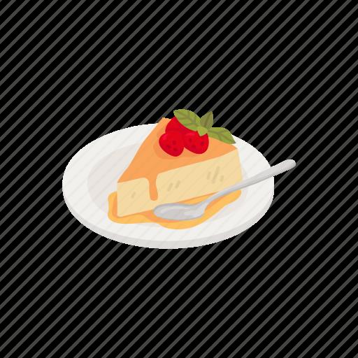 Dessert, food, pie, strawberry, strawberry pie icon - Download on Iconfinder