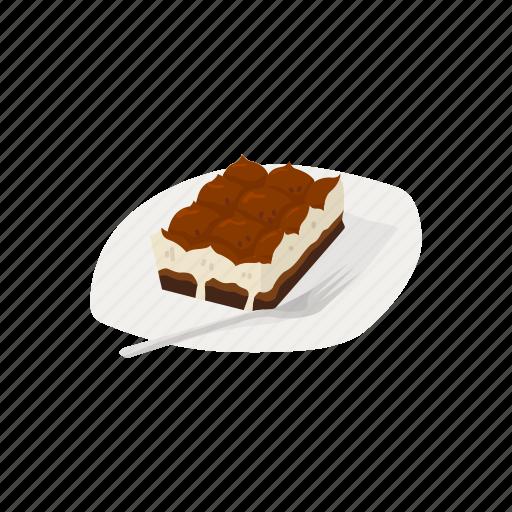 Cake, chocolate cake, dessert, food, italian dessert, meal icon - Download on Iconfinder
