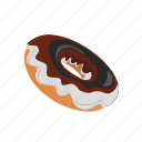 cake, dessert, donut, sweet, tasty icon