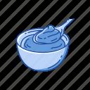 bake, cream, custard, dessert, egg cream, food, snack