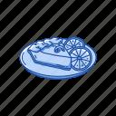 cake, desert, food, lemon cake, snack