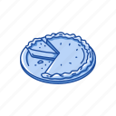 cake, dessert, food, pie, snack icon