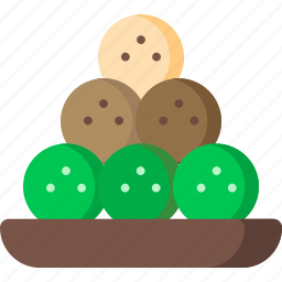 chocolate, desert, dessert, food, sweet, truffle, truffles icon