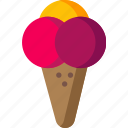 cream, dessert, food, ice, icecream, snack, sweet icon