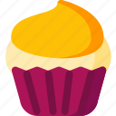 bakery, cake, cream, cupcake, dessert, food, sweet icon