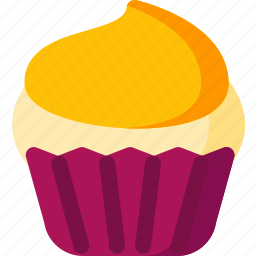 bakery, cake, cream, cupcake, dessert, food, sweet icon