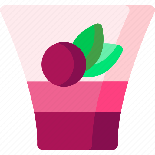cherry, cooking, cream, dessert, food, fruit, sweet icon