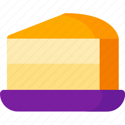 cake, cheese, cream, dessert, food, meal, sweet icon