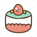 bakery, cake, dessert, slice, sweet icon