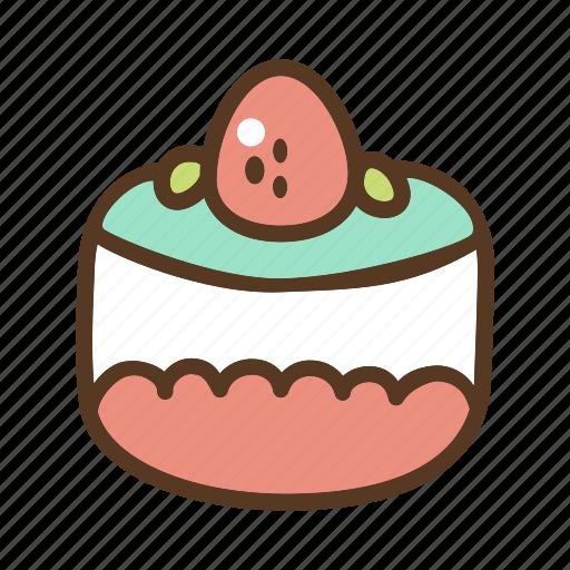 bakery, cake, dessert, slice, sweet icon
