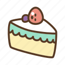bakery, dessert, food, mousse cake, sweet icon