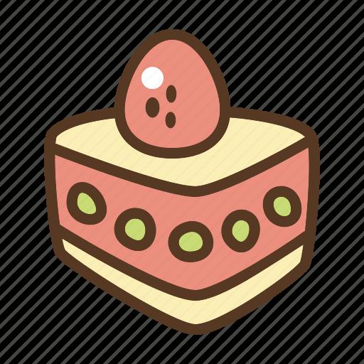 bakery, dessert, food, sponge cake, sweet icon