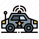 car, emergency, police, security, transport