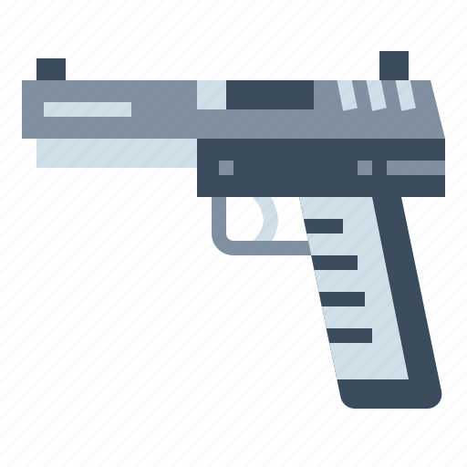 Gun, handgun, pistol, weapon icon - Download on Iconfinder