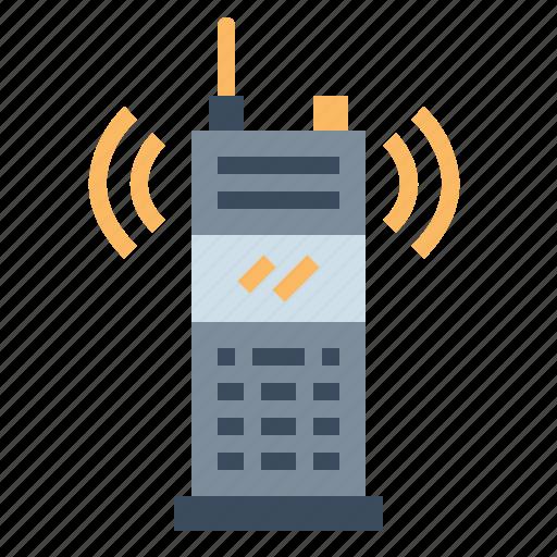 Conversation, electronics, radio, talkie, walkie icon - Download on Iconfinder