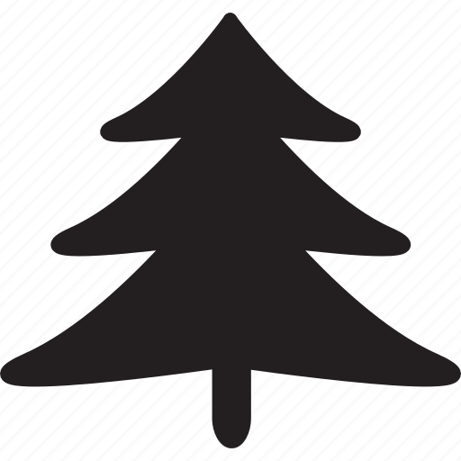 bush, christmas, christmas tree, leaves, outdoors, pine, tree icon