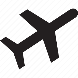 airplane, commute, fly, plane, travel, vacation icon