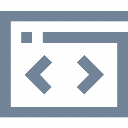 code, developer, frelance, frelancing, programing, web page icon
