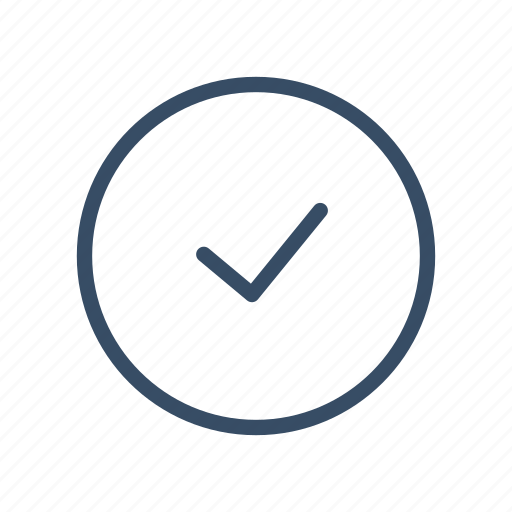 attention, notification, ok, ok status, pass, status, tick icon