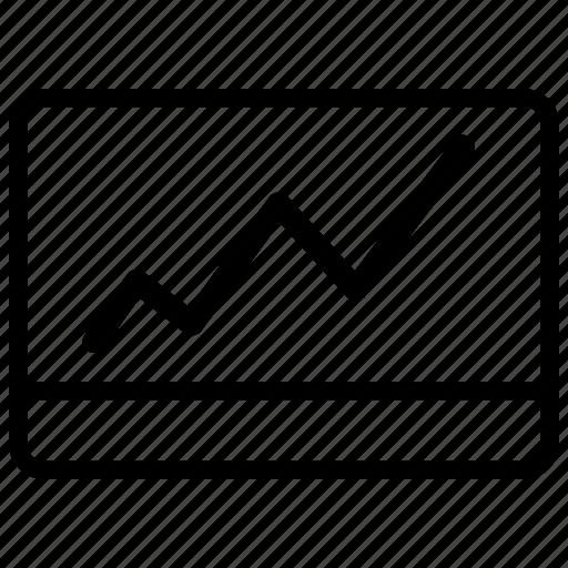 analytics, bar, browser, business, chart, charts, computer, diagram, graph, internet, market, marketing, monitor, monitoring, optimization, progress, report, screen, seo, statistics, stock icon