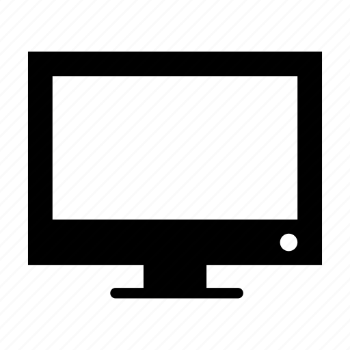 computer, desktop, device, monitor, pc, tv icon