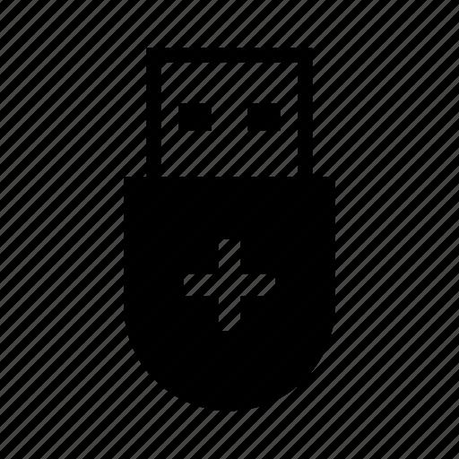 add, add usb, attach, connect, new, storage, usb icon