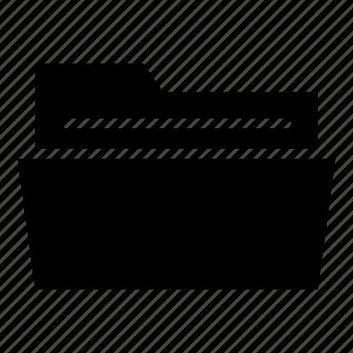 document folder, file folder, files, folder, open, open folder icon