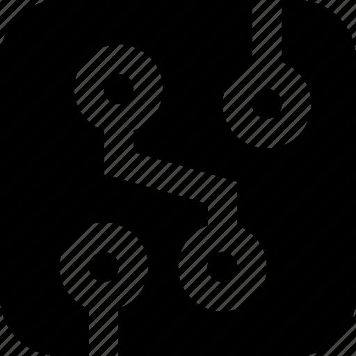 board, circuit icon