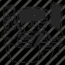 developer, desk