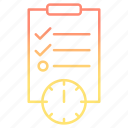 deadline, development and startup, event, schedule icon
