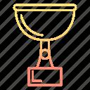 achievement, award, cup, reward