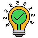creativity, energy, green, innovation icon