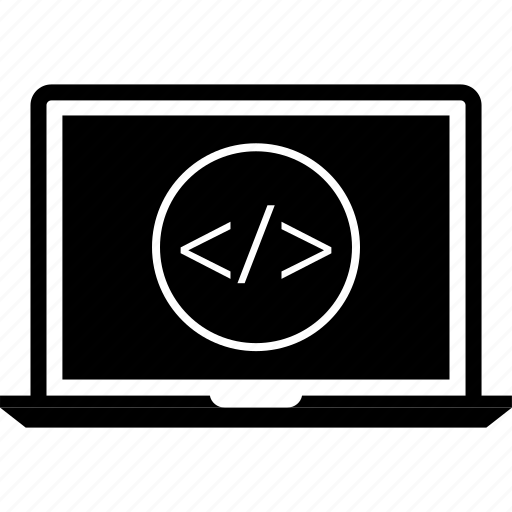 code, coding, web icon