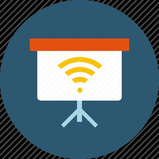 conference, distance, education, internet, online, presentation, remote, seminar, web, webinar, workshop icon