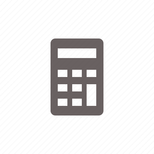 calculator, device icon