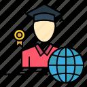 avatar, graduate, graduation, scholar