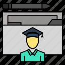 avatar, education, graduate, graduation, scholar