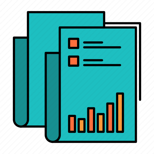 Analytics, audit, business, data, marketing, paper, report icon - Download on Iconfinder