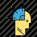 art, man, mind, programming, user icon