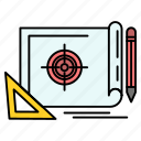 achievement, file, marketing, target